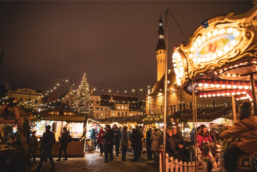 GALERII   Tallinna jõuluturg valiti Euroopa parimaks!
