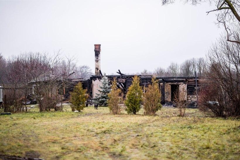 FOTOD | Saaremaal hukkus tulekahjus noormees