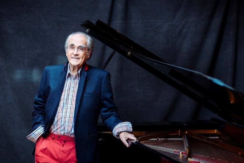 Filmimuusika elav legend Michel Legrand esineb Tallinnas