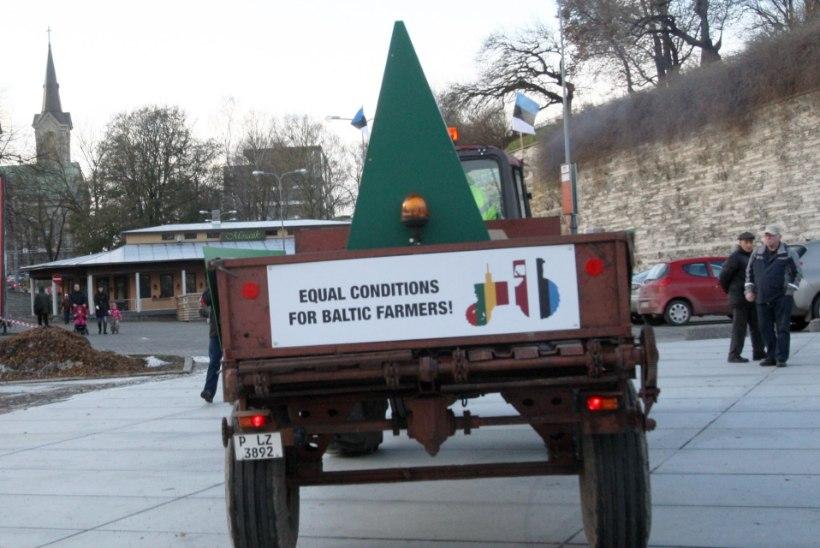 Balti riikide põllumehed lähevad Brüsselisse protestima