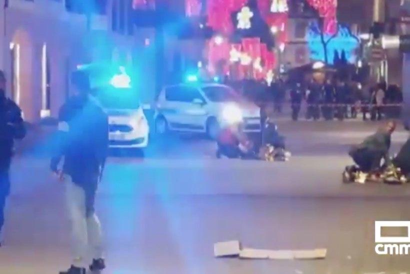 VIDEO JA  FOTOD   TULISTAMINE: Strasbourgi jõuluturul sai kaks inimest surma ja 12 vigastada