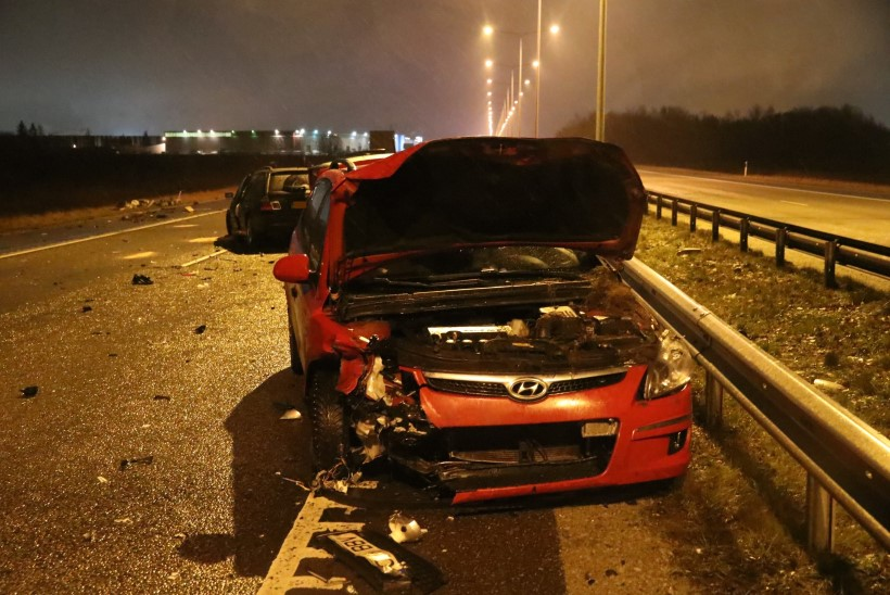 FOTOD   Tallinna-Tartu maanteel liiklusõnnetusse sattunud naine suri haiglas