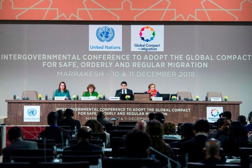 Maailma riigipead kiitsid ÜRO ränderaamistiku Marrakechis heaks suurema meediatähelepanuta