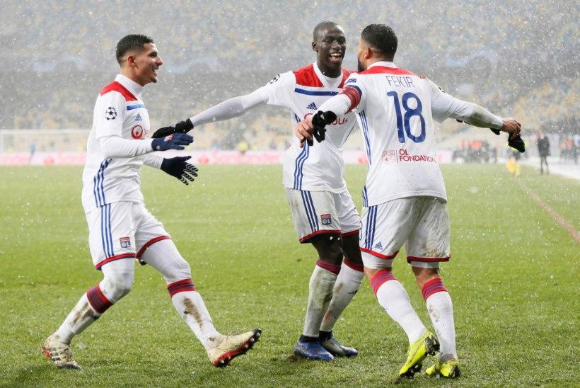 Kiievi lumesajus selgus Meistrite liiga viimane edasipääseja, Manchester United ja Juventus said lüüa