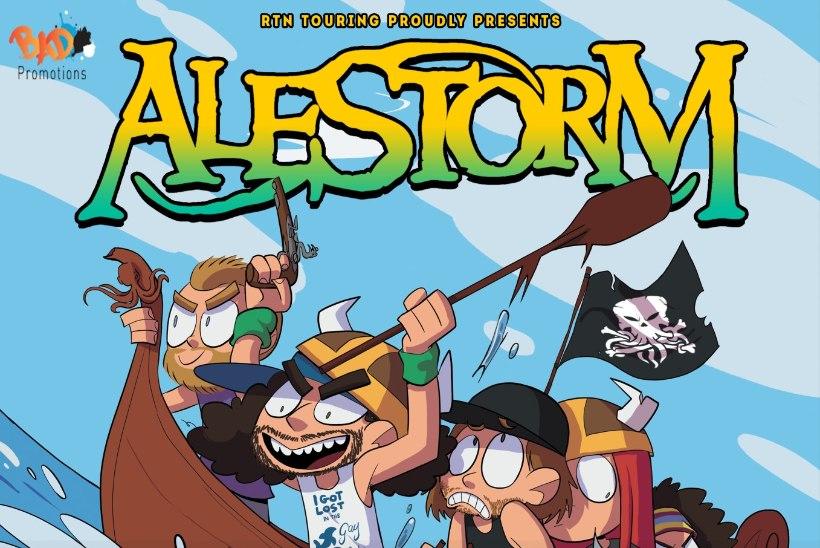 Piraadi-metal'i lipulaev Alestorm esineb taas Eestis