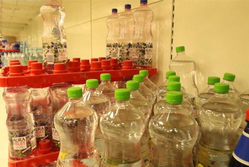 """Euroopa Liit plaanib eestlasi plastpudelite eduka kogumise eest """"karistada"""""""