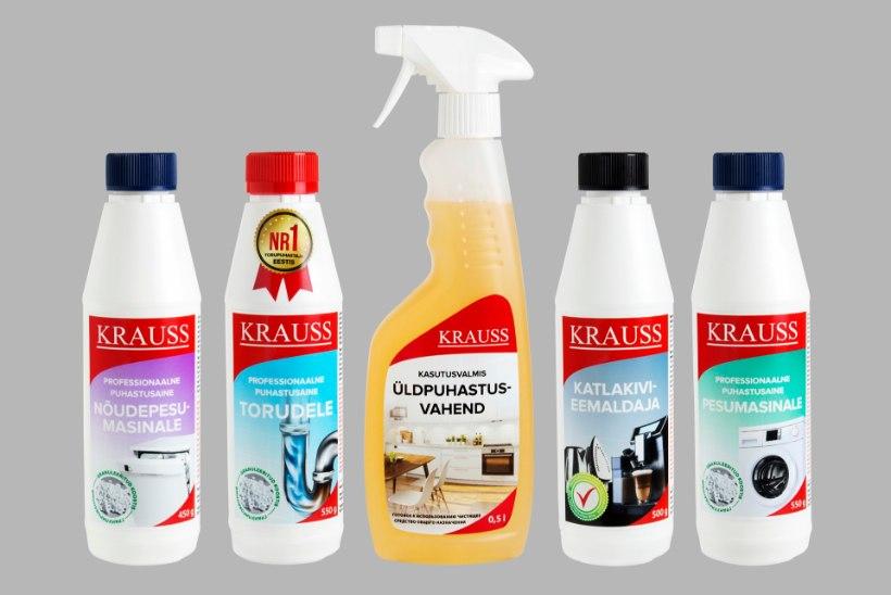 Ассортимент чистящих средств фирмы Krauss пополнился двумя новыми продуктами!