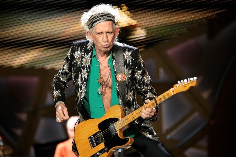 MAAILM POLE ENAM ENDINE! Keith Richards jättis pummeldamise maha