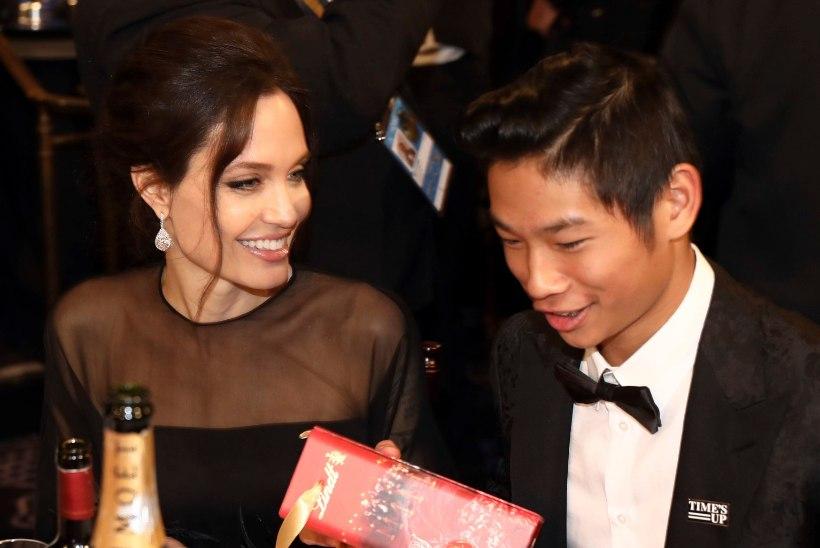 Ajakiri: Jolie ütles pojale, et Pitt ei tahtnudki teda adopteerida