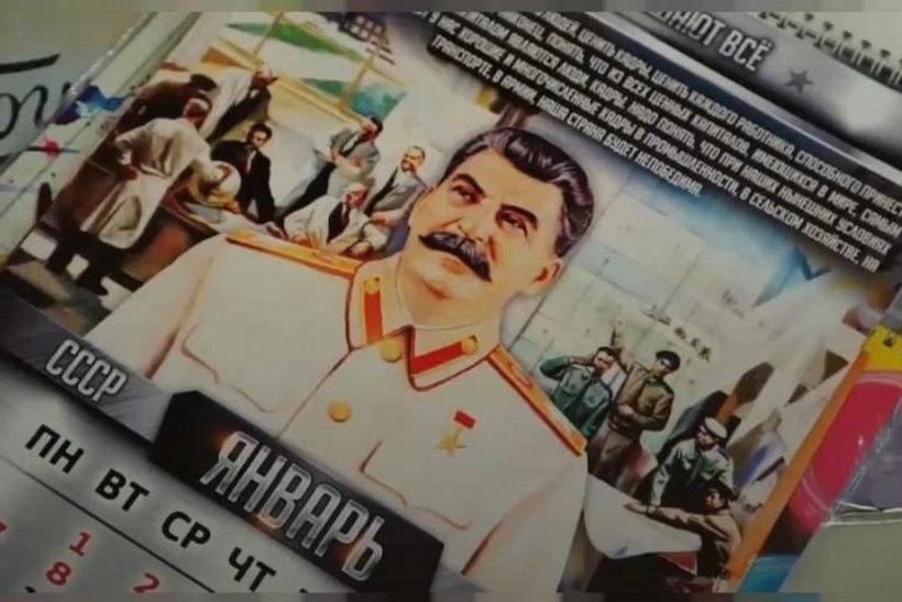 DIKTAATORI KUMMARDAJAD: Venemaal kogub populaarsust Stalini kalender