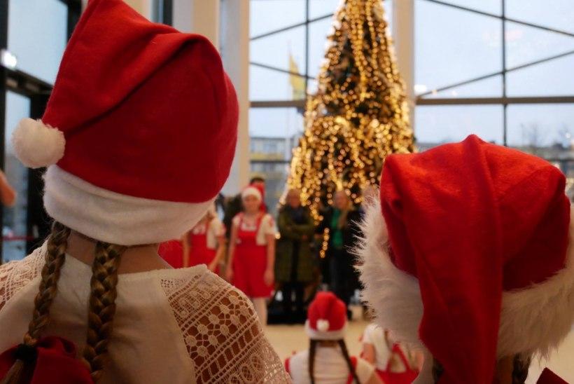 Jõulušoping on lihtsam väikeses kaubanduskeskuses