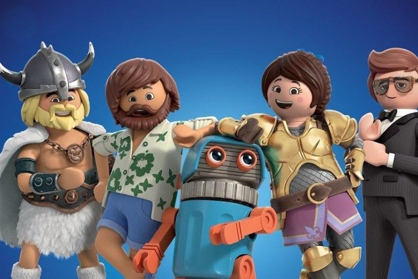 Väljakutse legofilmidele: Playmobil teeb oma filmi