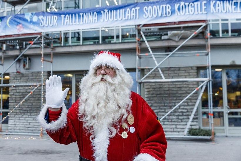 ÕL VIDEO & GALERII | Tallinna lauluväljak muutus jõulumaaks