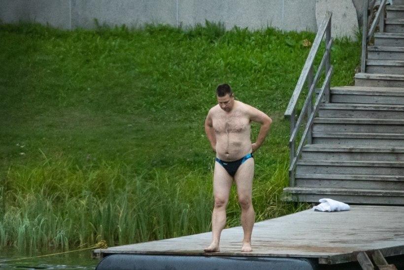 MILLISED MEHED! Poolpaljad Jüri Ratas ja Mihhail Kõlvart sattusid ühele pildile