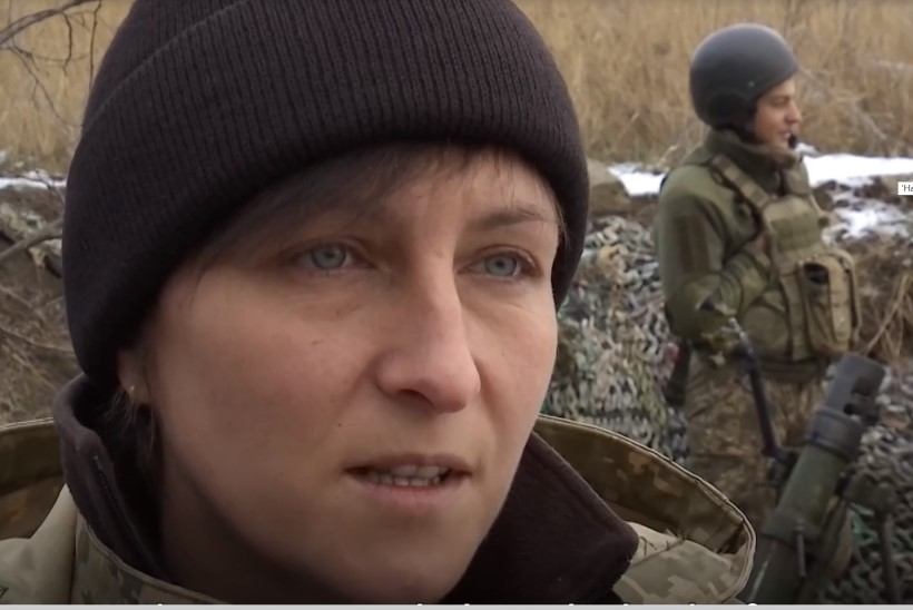 VIDEO   Ukraina naiskomandör juhib rindel oma üksust