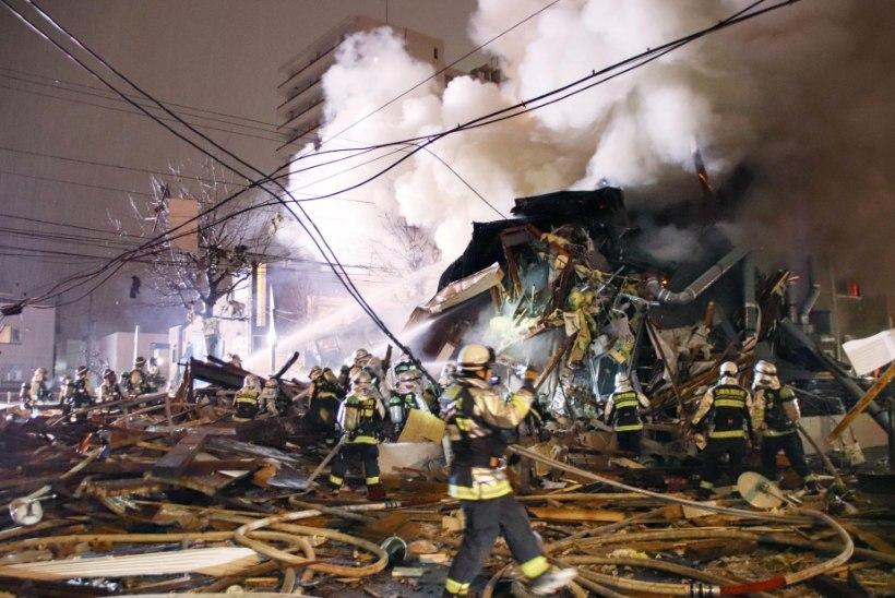 FOTOD | Jaapani restoraniplahvatuses sai viga mitukümmend inimest