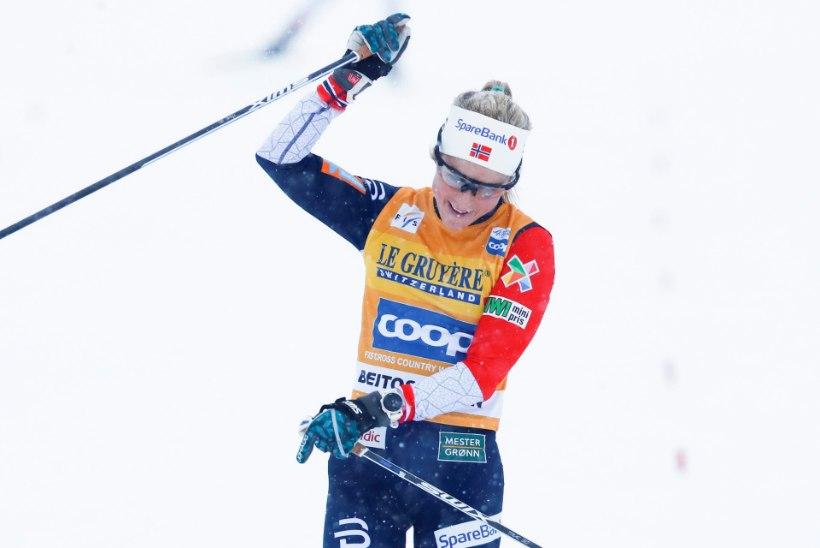 ALISTAMATU! Therese Johaug noppis mängeldes järjekordse võidu
