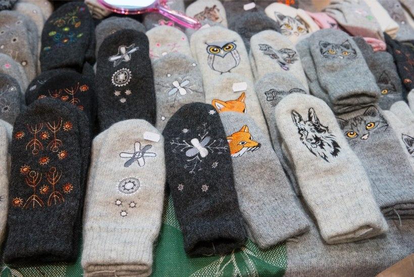 GALERII   Jõululaat ERMis tõi kohale 150 müüjat ja 7000 külastajat
