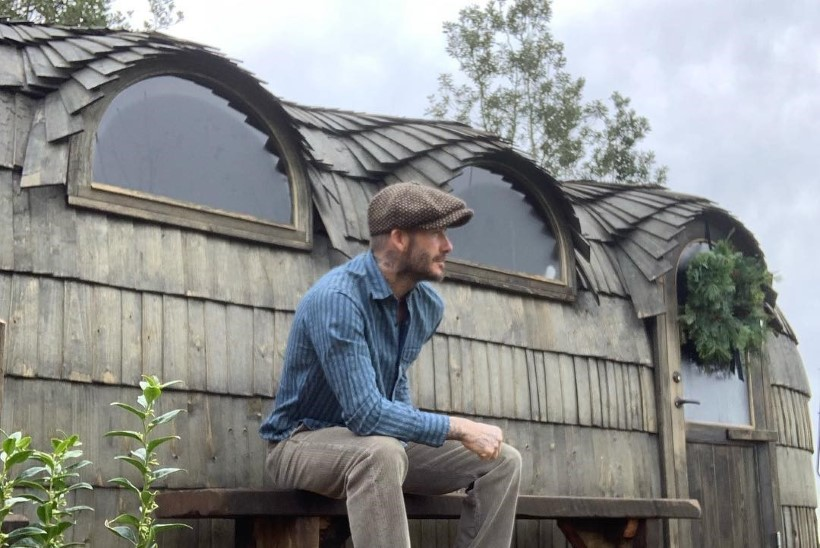 David Beckham avastas Eesti saunamaja koos maailmakuulsa filmirežissööriga