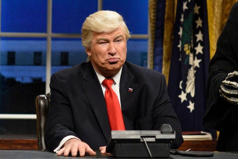 Ka Trumpile ei meeldi pilamine: USA president tahab, et naljasaade kohtusse viidaks