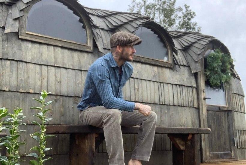 HAKKAS KADE? Sõbra iglusaunast vaimustuses vutitäht David Beckham ostis Eestis tehtud sauna!