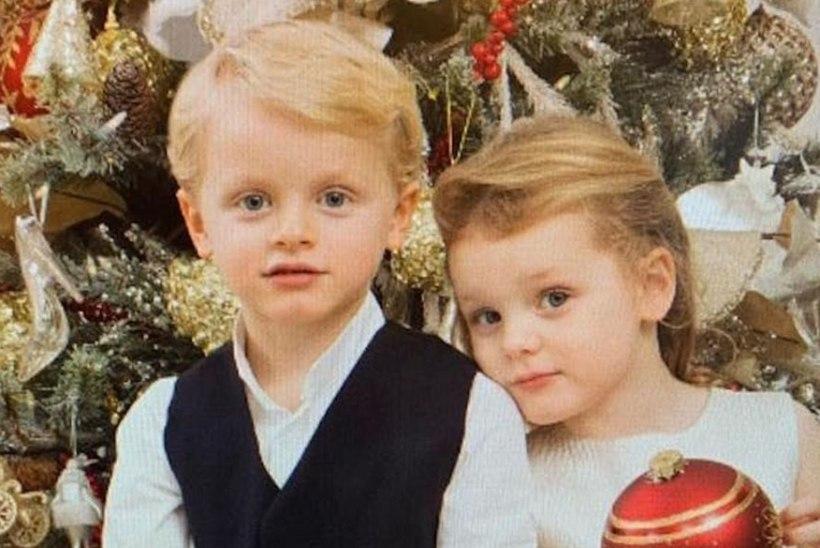Monaco vürstinna avaldas oma kaksikutest armsa jõulupildi