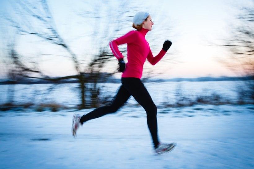 Mida talvistel jooksutreeningutel silmas pidada?