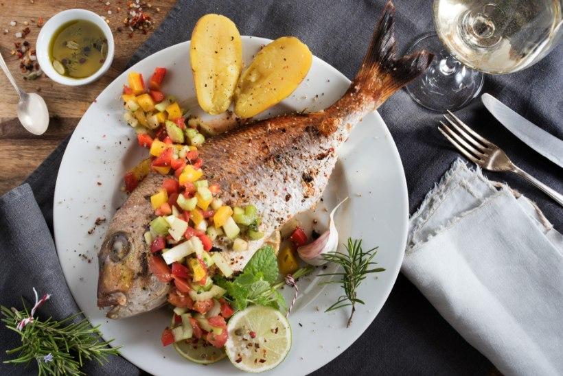 NÄDALAMENÜÜ! Kipud jõuluajal üle sööma? Vali kala ja peenem piht!