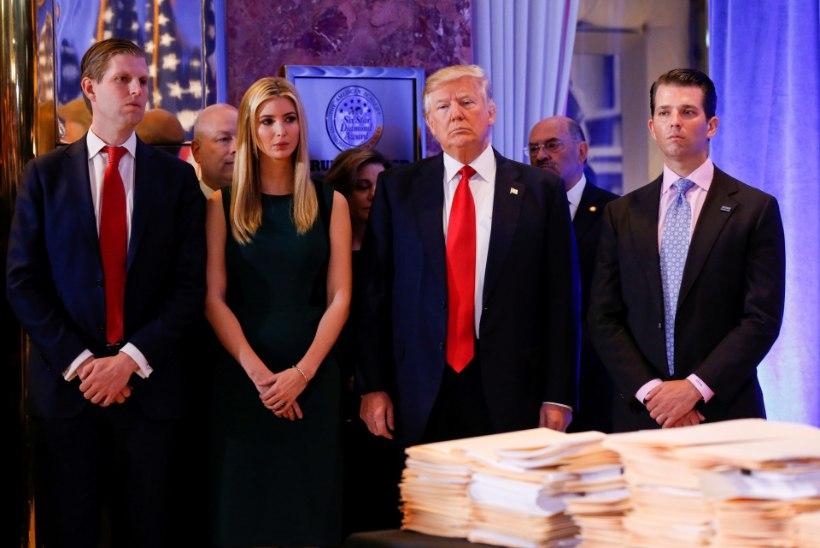 Trumpi perekond pani heategevusorganisatsiooni rahadest üht-teist ka enda tasku