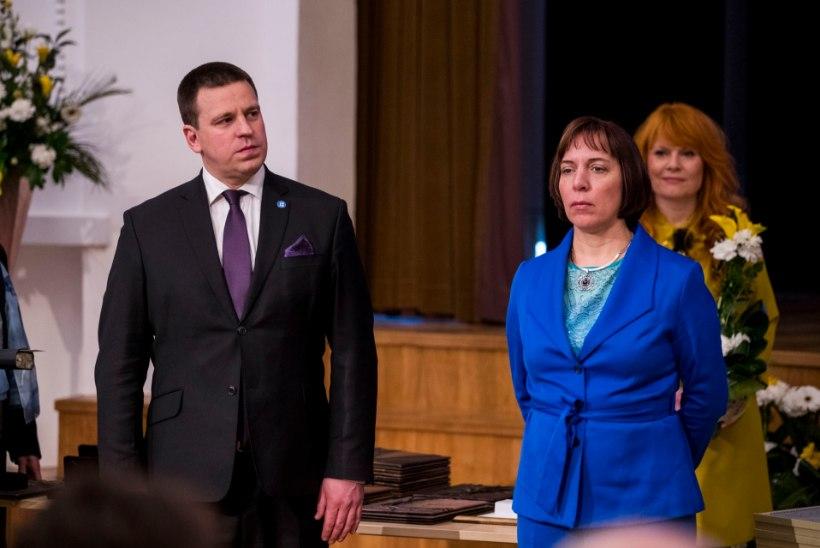 Jüri Ratas: Mailis Reps tunnistas ministeeriumis olevaid probleeme
