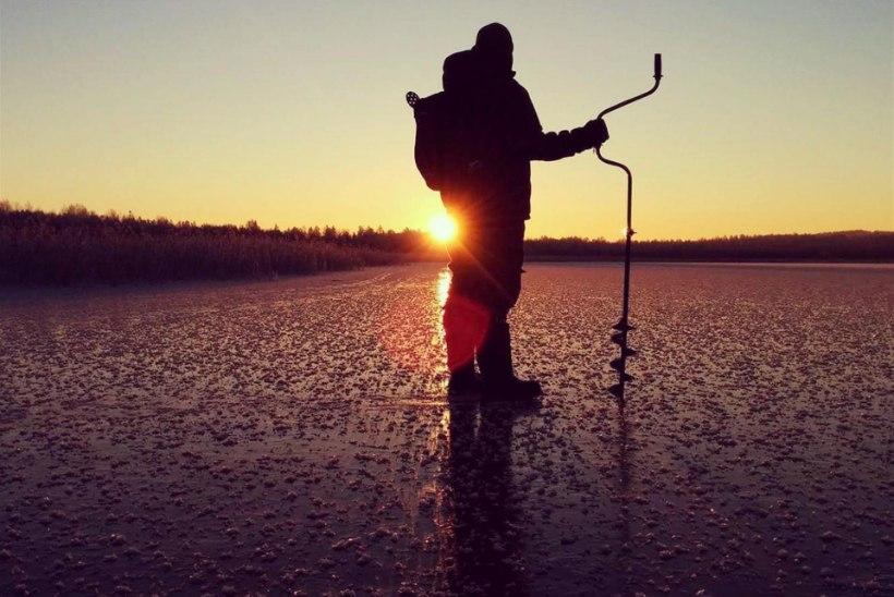Lämmijärve ja Pihkva järve jääle võib minna jalgsi