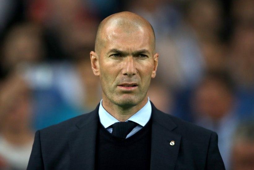 Meedia: Zinedine Zidane kaalub Manchester Unitedi pakkumist