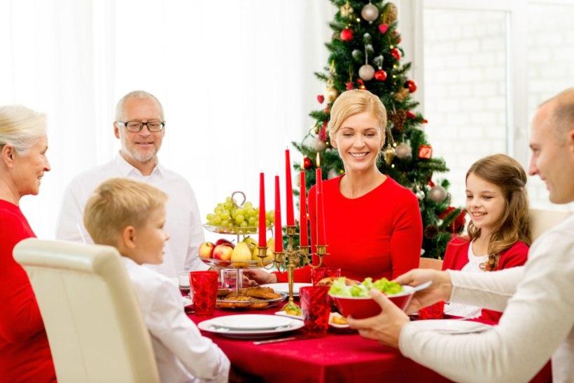 PEREARST: eestlaste traditsiooniline laud ei ole ebatervislik, aga süüa tuleb mõistlikult