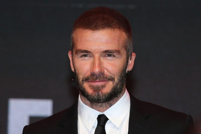 David Beckham lendab esimese jalgpallurina kosmosesse?