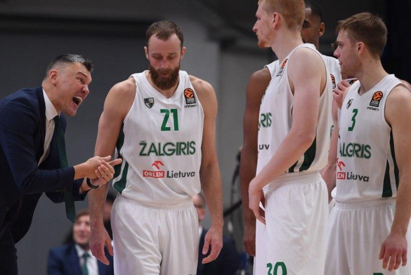 HEA TÖÖ! Kaunase Žalgiris noppis Euroliigas hooaja seitsmenda võidu