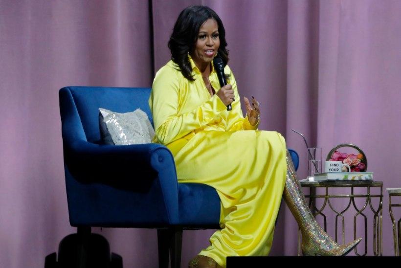 Ah sa püss! Michelle Obama kandis seninägematuid kintssaapaid!