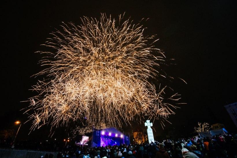 Eesti suurtest keskustest kulutab aastavahetuse ilustulestikule enim Tallinn