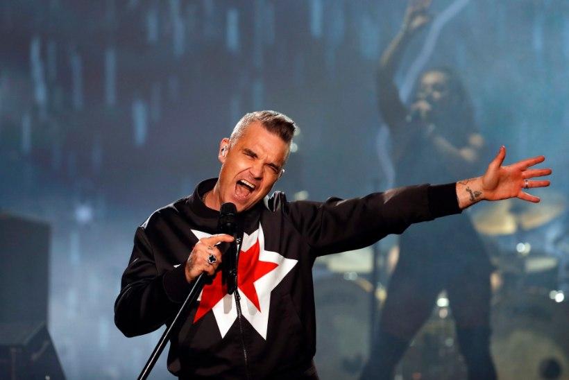 Robbie Williams seljatas Led Zeppelini legendi