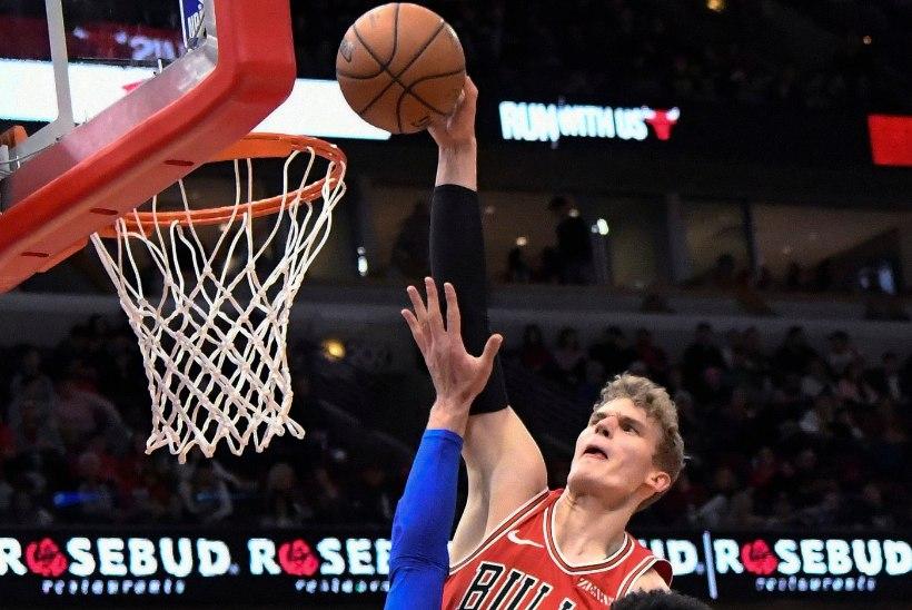 VIDEO | Üle vastase pealt pannud Markkanen pakkus NBA mängudeõhtu tipphetke!