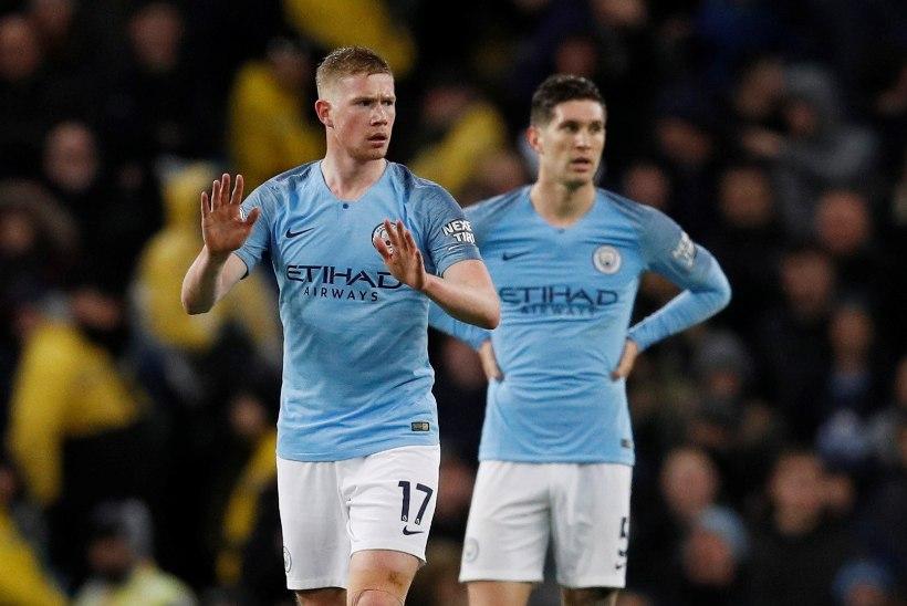 Kummalise kaotuse saanud Manchester City mängis Liverpoolile trumbid kätte