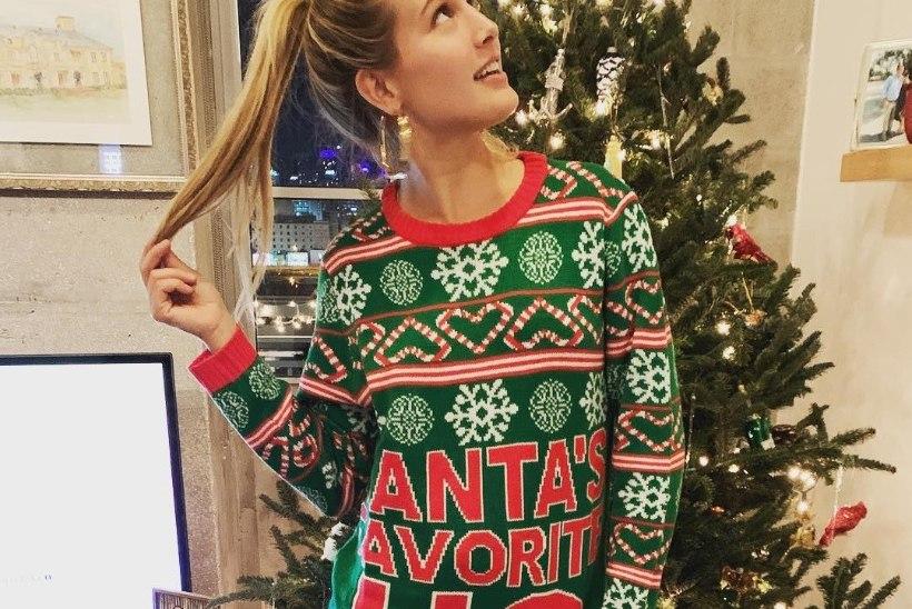 FOTOD | Jõuluvana lemmiknäkk? Vallatu tennisestaar hullutab kuumade fotodega