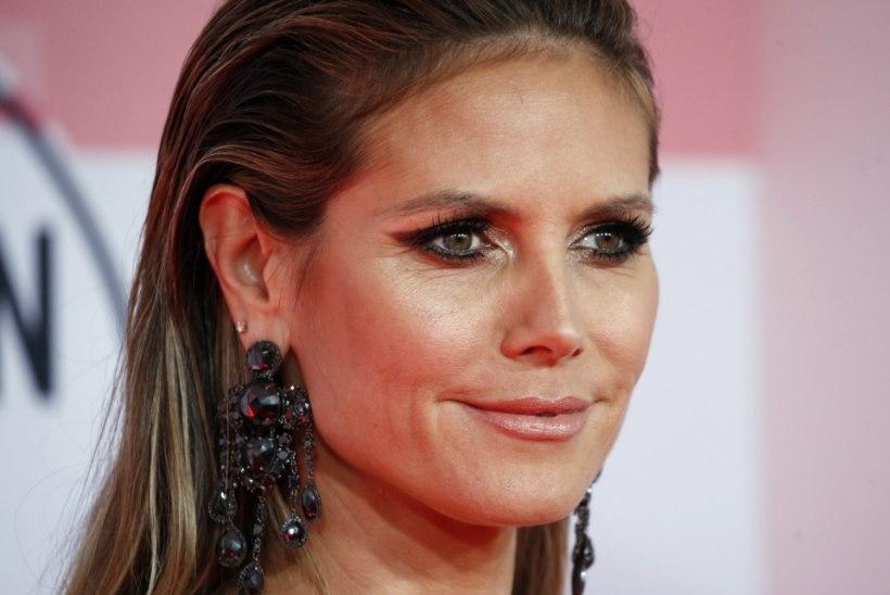 45aastane Heidi Klum kihlus jõuluõhtul 29aastase poiss-sõbra Tom Kaulitziga