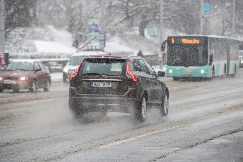 Ilm teisel jõulupühal: õhutemperatuur jääb nullilähedaseks ja teed on libedad