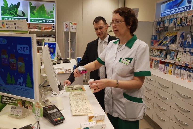 Käivitub ravimite ehtsuse kontrolli süsteem, et eristada neid võltsravimitest