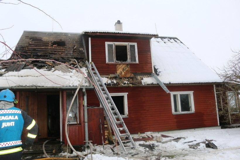 TREPIKOJAS SEISNUD LAPSEVANKER PANDI PÕLEMA: kuuekuune imik, tema lasteaiaealine vend ja teismeline õde jäid tulelõksu!