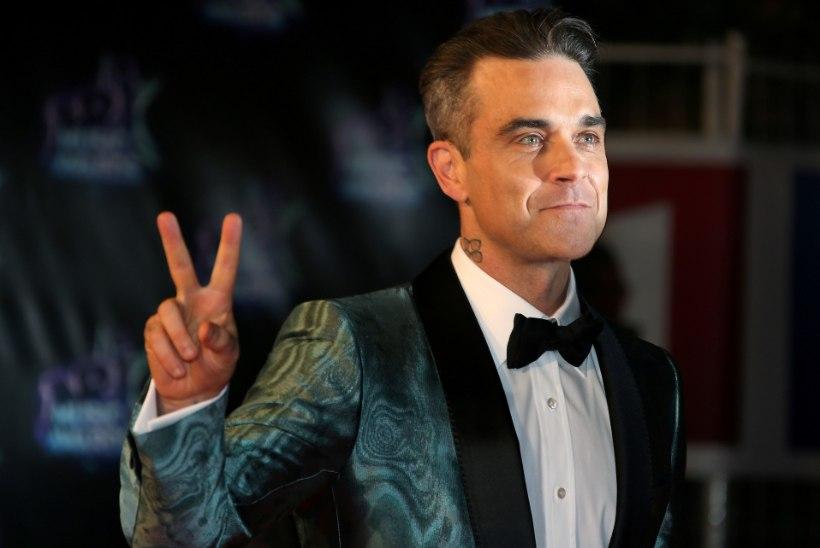 Robbie Williams sai 25 aastat tagasi peol julma peahaava