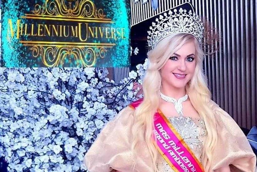 """Aastalõpp on olnud rõõmustav """"Missis Estonia"""" korraldajale Tiina Jantsonile - üks tema kaunitaridest võitis taas uhke tiitli"""