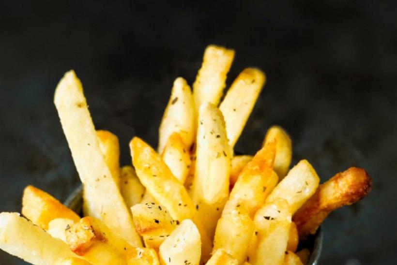 Tervislik on süüa korraga vaid KUUS friikartulit!