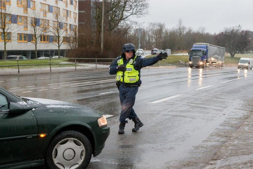 Vutt-vutt rehve vahetama, politsei teeb Tallinnas kontrolli!