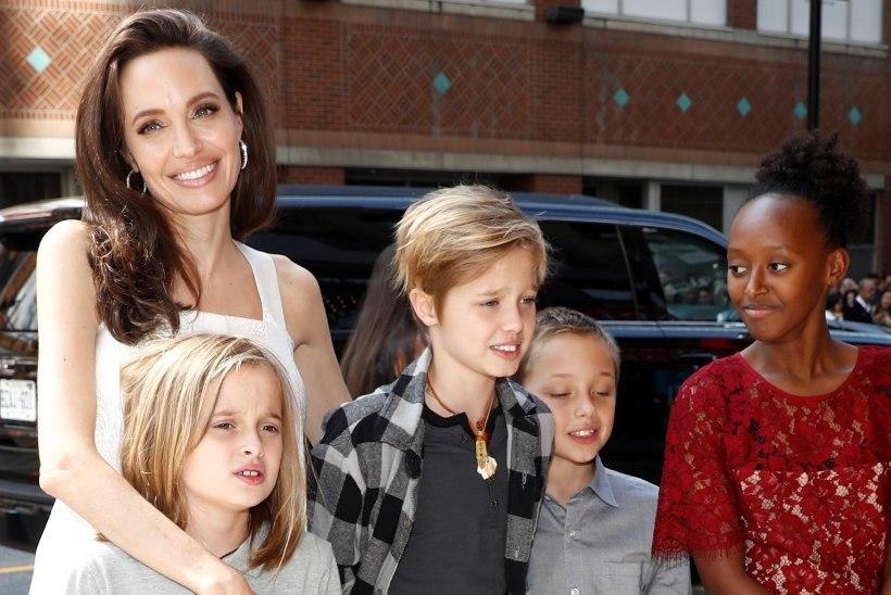 Angelina ja Brad jõudsid laste hooldusõiguse asjus kokkuleppele